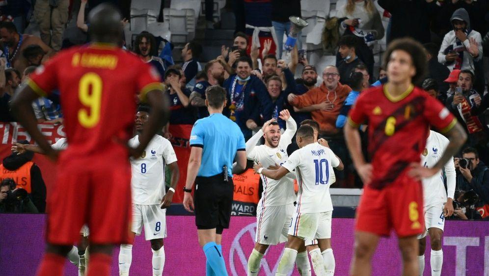 Frankreich siegt nach 0:2-Rückstand gegen Belgien - Bildquelle: AFP/SID/FRANCK FIFE