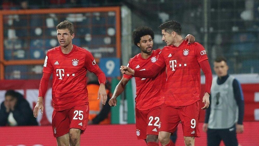 Bayern trifft im DFB-Pokal auf Hoffenheim - Bildquelle: FIROFIROSID