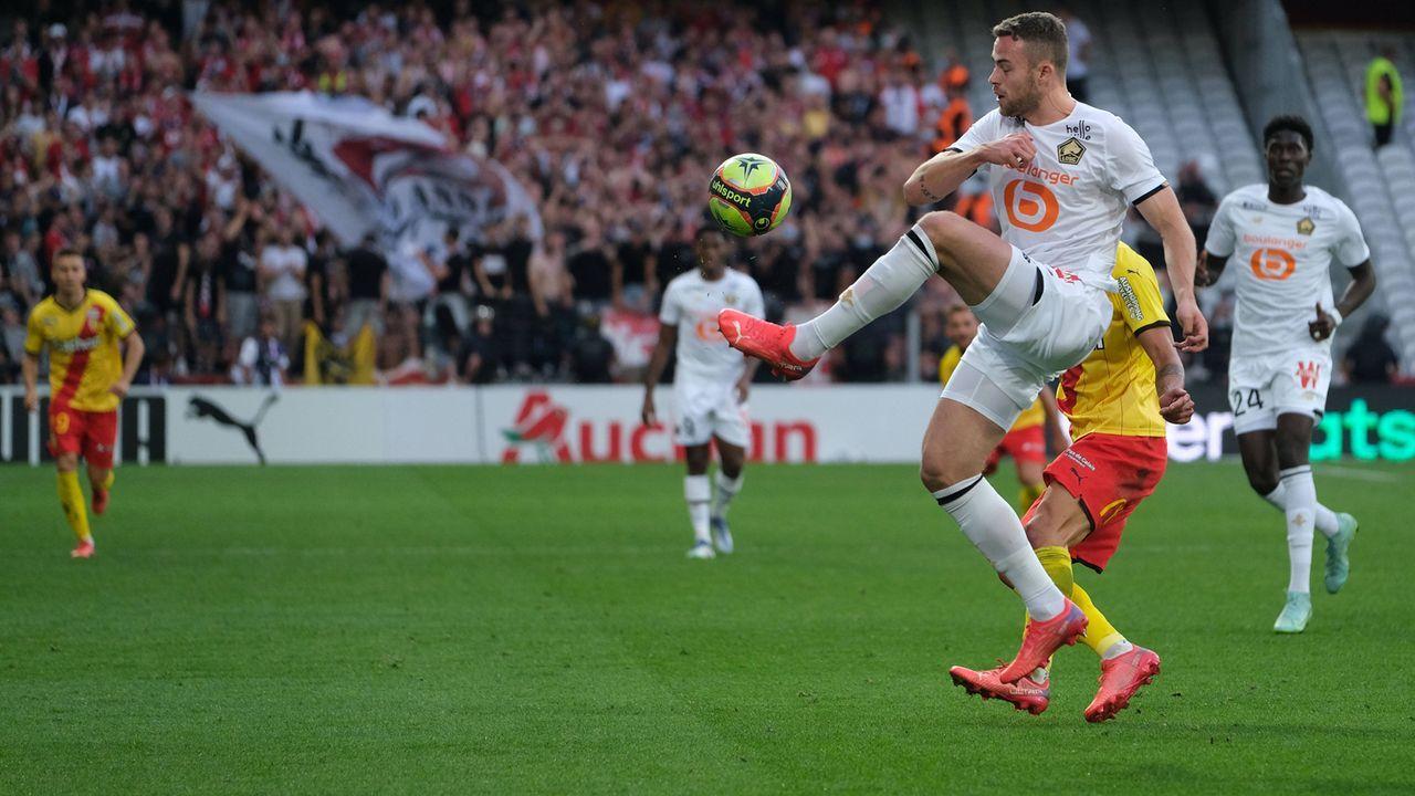 OSC Lille: 6 Spiele, 5 Punkte, 7:12 Tore, Platz 15 - Bildquelle: imago images/ZUMA Wire