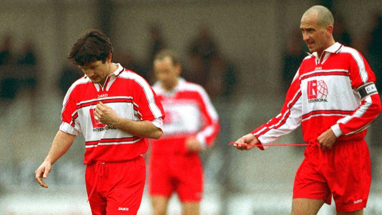 Platz 2: Rot-Weiß Erfurt - Rot-Weiß Ahlen 11:10 n.E. (24 Elfmeter/ Saison 2001/2002)