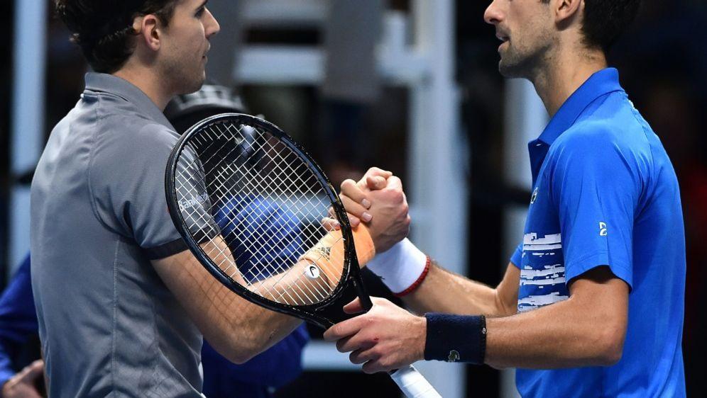 Novak Djokovic (r.) ist vom US-Open-Finale begeistert - Bildquelle: AFPSIDGLYN KIRK