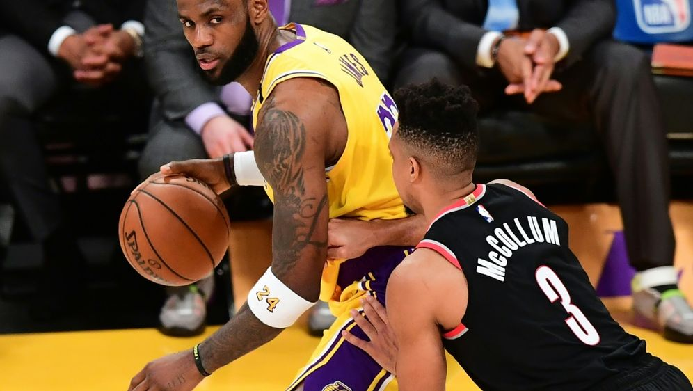 LeBron James' Lakers sind Topfavorit auf den Titel - Bildquelle: AFPSIDFREDERIC J. BROWN