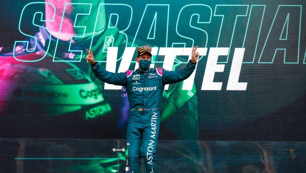 Sebastian Vettel. - Bildquelle: imago images/HochZwei