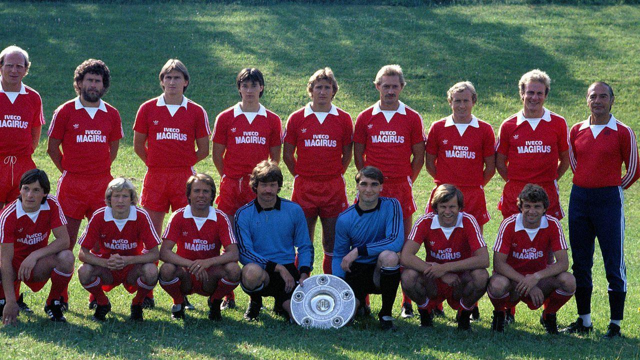 Heimtrikot der Saison 1981/82 - Bildquelle: Imago