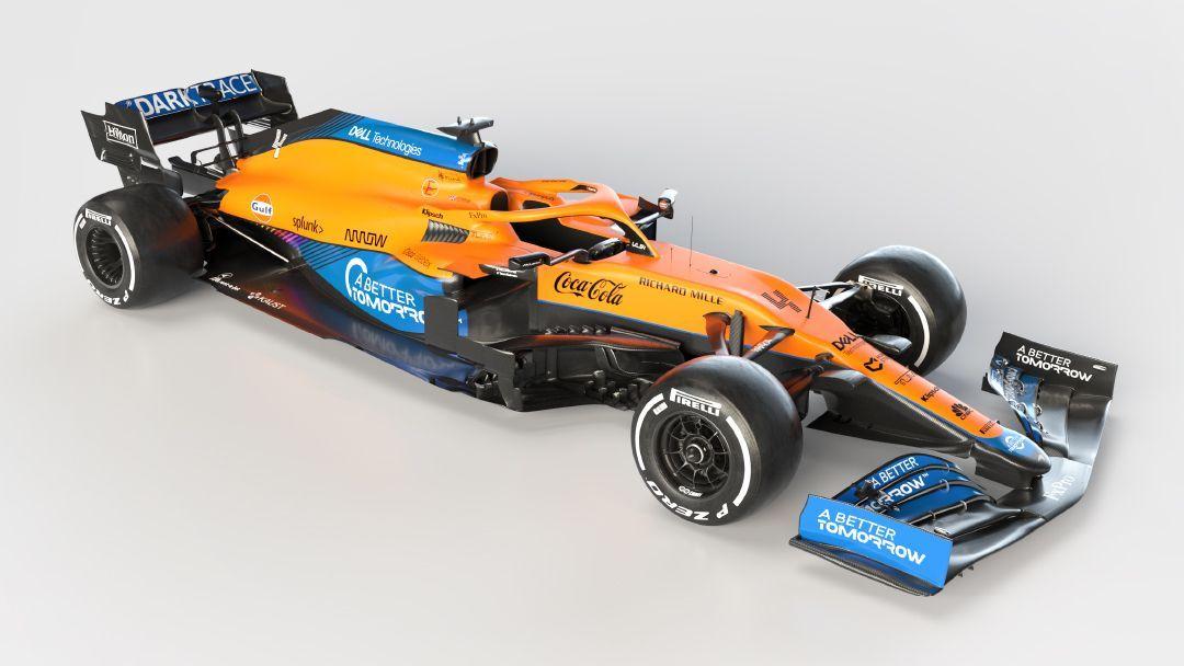 McLaren MC35M - Bildquelle: https://twitter.com/McLarenF1