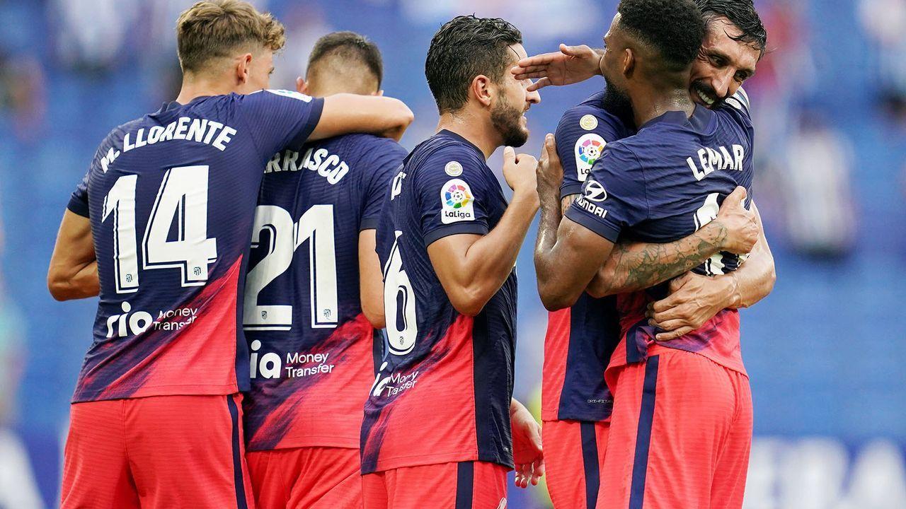 Platz 10: Atletico Madrid  - Bildquelle: imago images/Pressinphoto