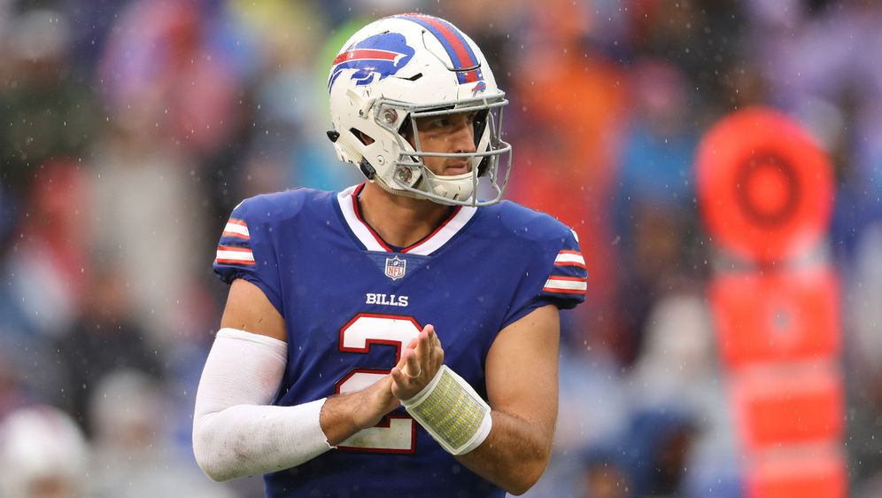 Nathan Peterman, Quarterback der Buffalo Bills - Bildquelle: Getty Images