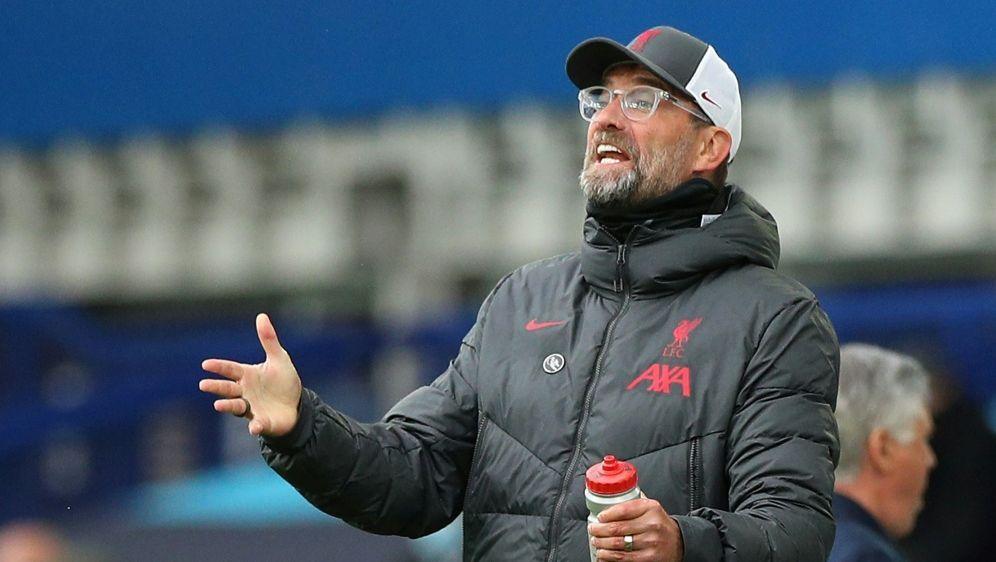 Klopp und Liverpool verpassen Derbysieg - Bildquelle: AFPPOOLSIDPeter Byrne