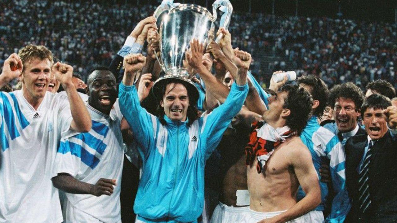 Erster und einziger französischer CL-Sieger: Olympique Marseille 1992/93 - Bildquelle: imago
