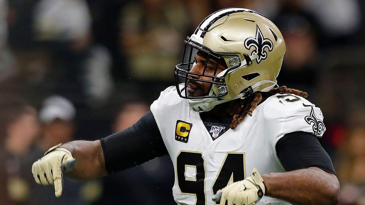 Platz 6: Cameron Jordan (New Orleans Saints) - Bildquelle: 2020 Getty Images