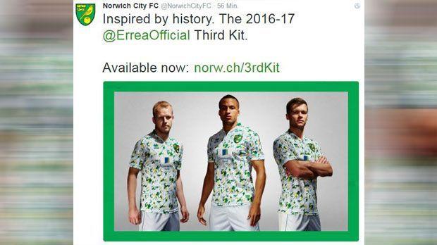 Norwich City - Bildquelle: Twitter/Norwich City