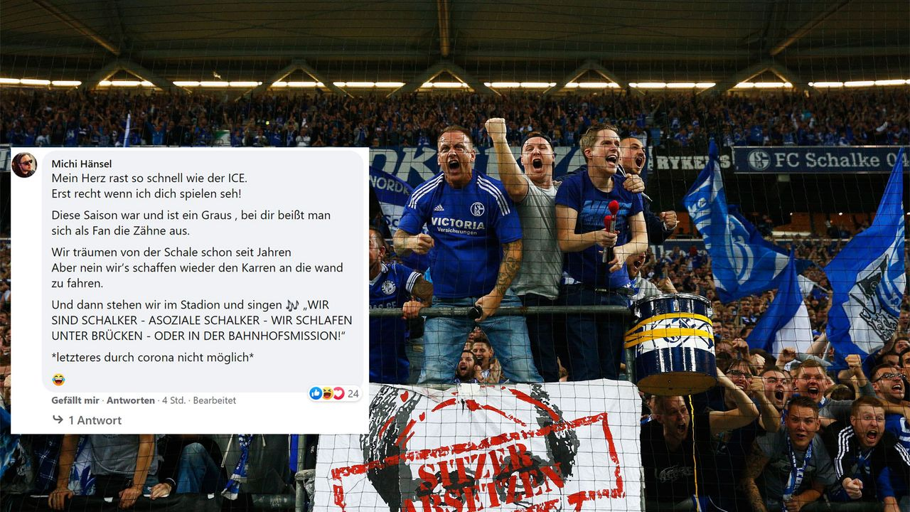 Treue Fans hat der FC Schalke allemal - Bildquelle: facebook.com/ransport/2016 Getty Images