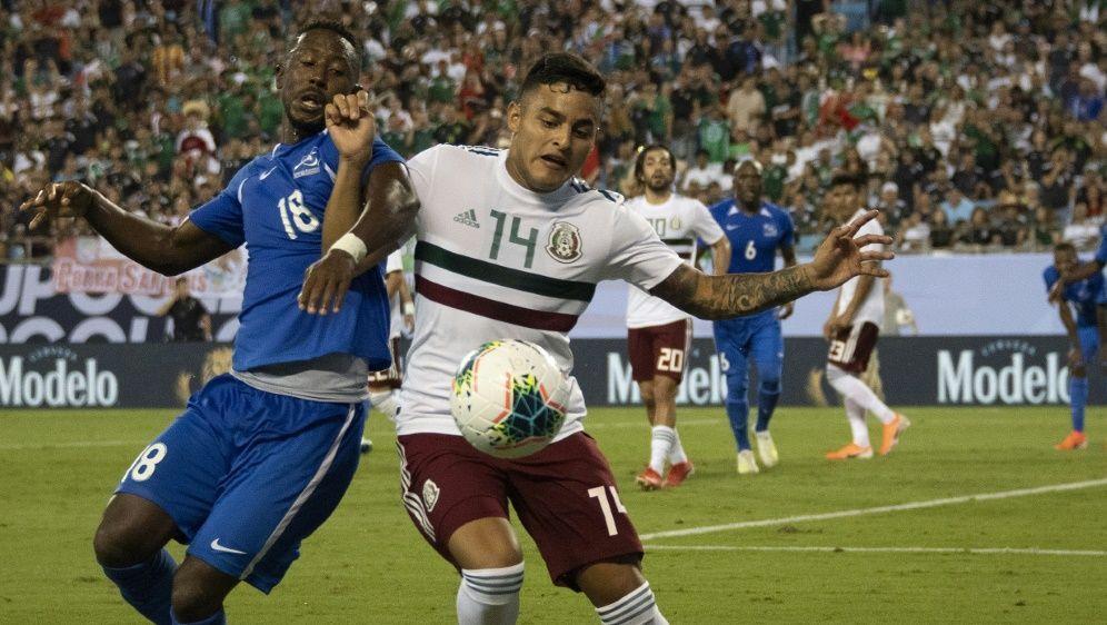 Mexiko steht als Gruppensieger im Viertelfinale - Bildquelle: AFPSIDJIM WATSON