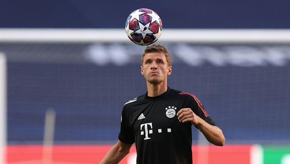 Müller absolviert gegen Barca seine 113. CL-Partie - Bildquelle: AFPSIDRAFAEL MARCHANTE