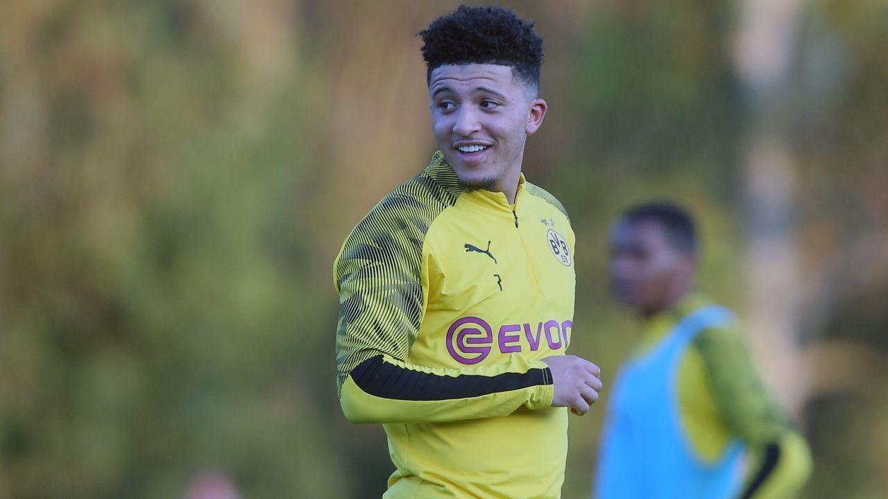 Platz 4 - Jadon Sancho (Borussia Dortmund) - Bildquelle: 2020 Getty Images