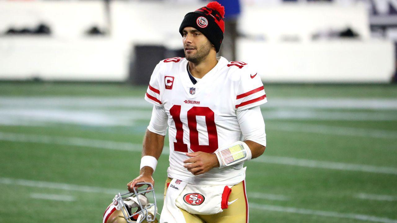 Geteilter 4. Platz: Jimmy Garoppolo (Quarterback, San Francisco 49ers) - Bildquelle: Getty Images
