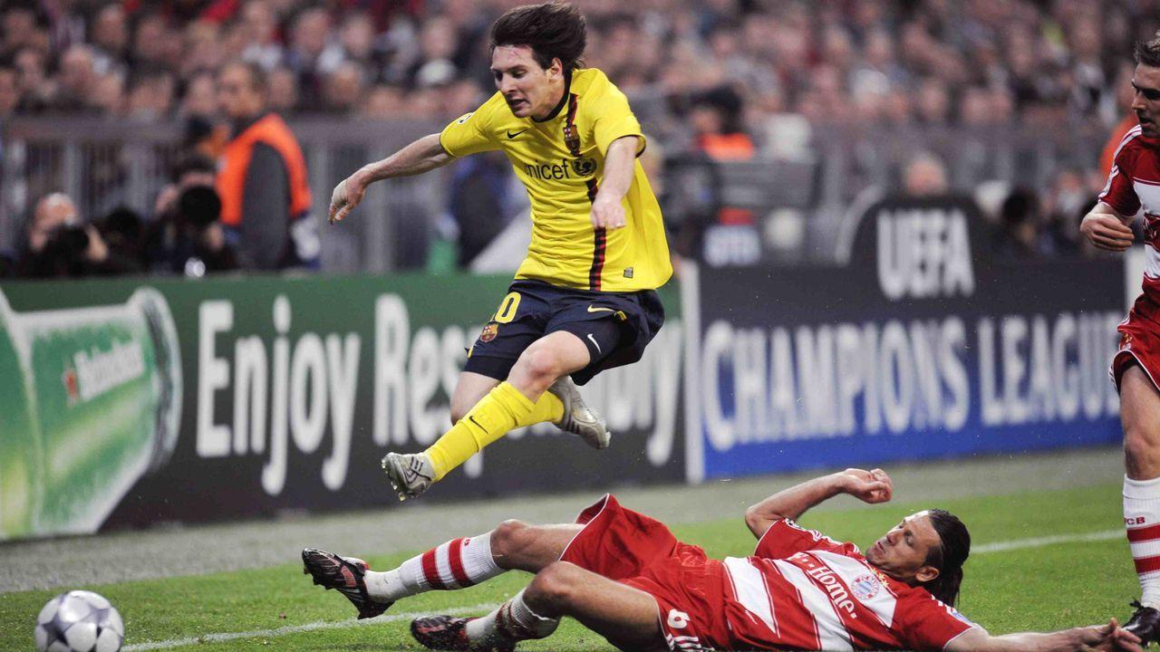 2008/2009: FC Barcelona gegen FC Bayern (Viertelfinale)  - Bildquelle: imago