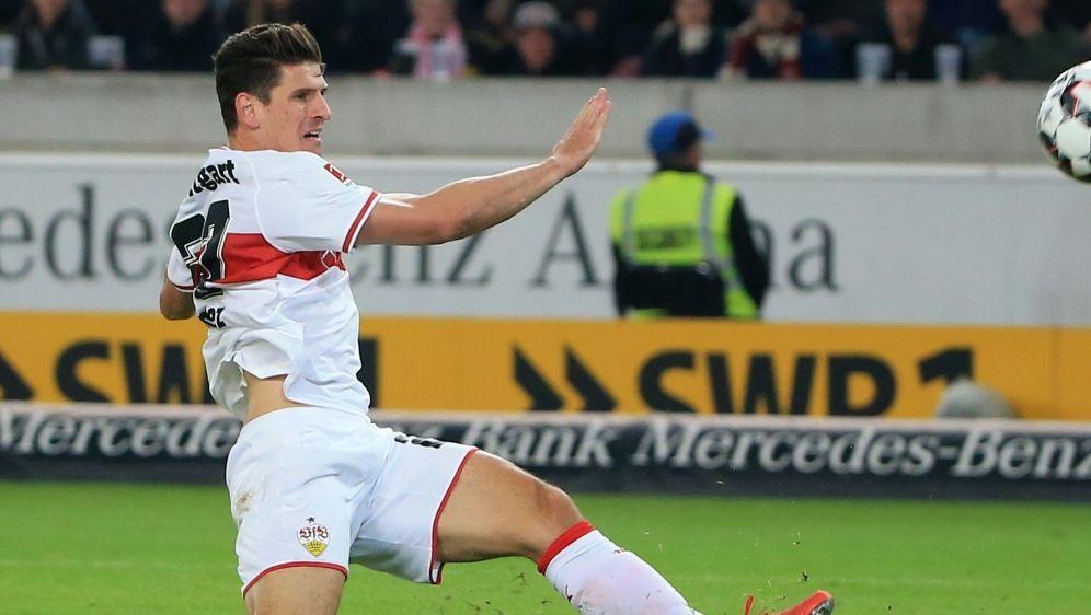 Traf für den VfB zum Ausgleich: Torjäger Mario Gomez - Bildquelle: PIXATHLONPIXATHLONSID