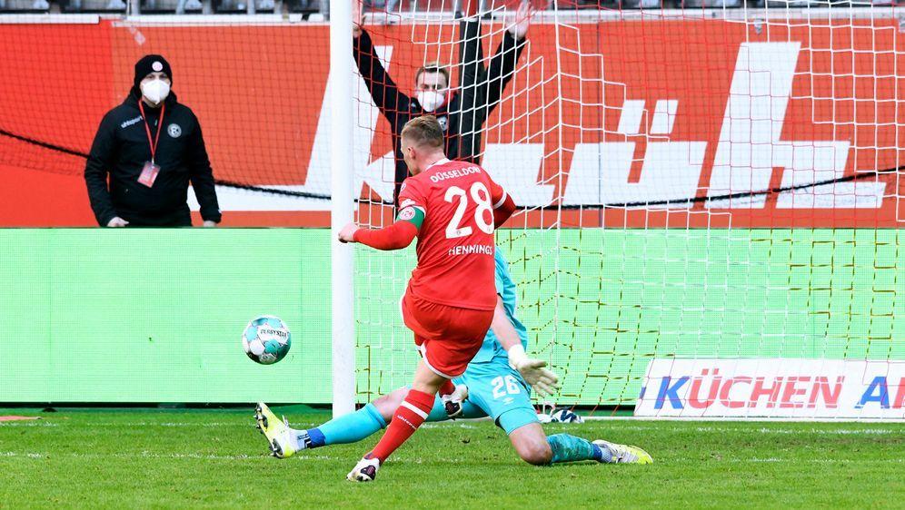 Fortuna setzt sich mit einem 3:1 gegen den FCN durch - Bildquelle: Imago