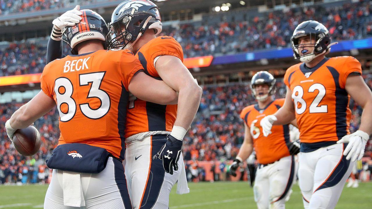 Platz 8: Denver Broncos - Bildquelle: 2017 Getty Images