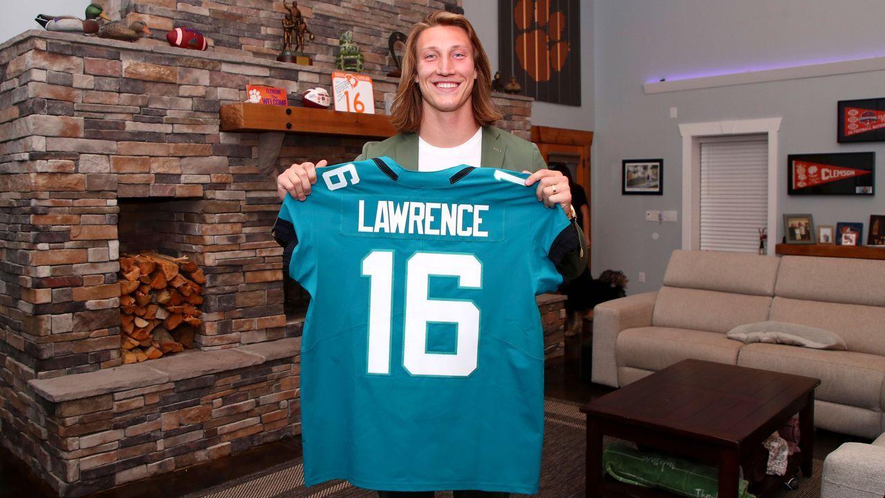 1. Pick - Trevor Lawrence (Quarterback, Jacksonville Jaguars) - Bildquelle: 2021 National Football League