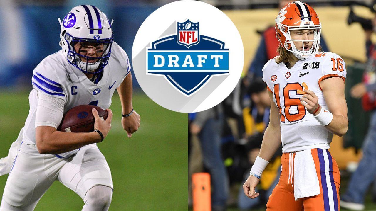 NFL Draft 2021: Madden simuliert die komplette 1. Runde - Bildquelle: getty images / imago / Screenshot Twitter @@NFLDraft