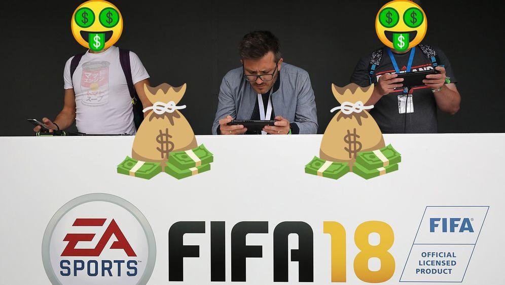 Ein Hacker hat EA Sports 324.000 Dollar gestohlen - Bildquelle: 2017 Getty Images