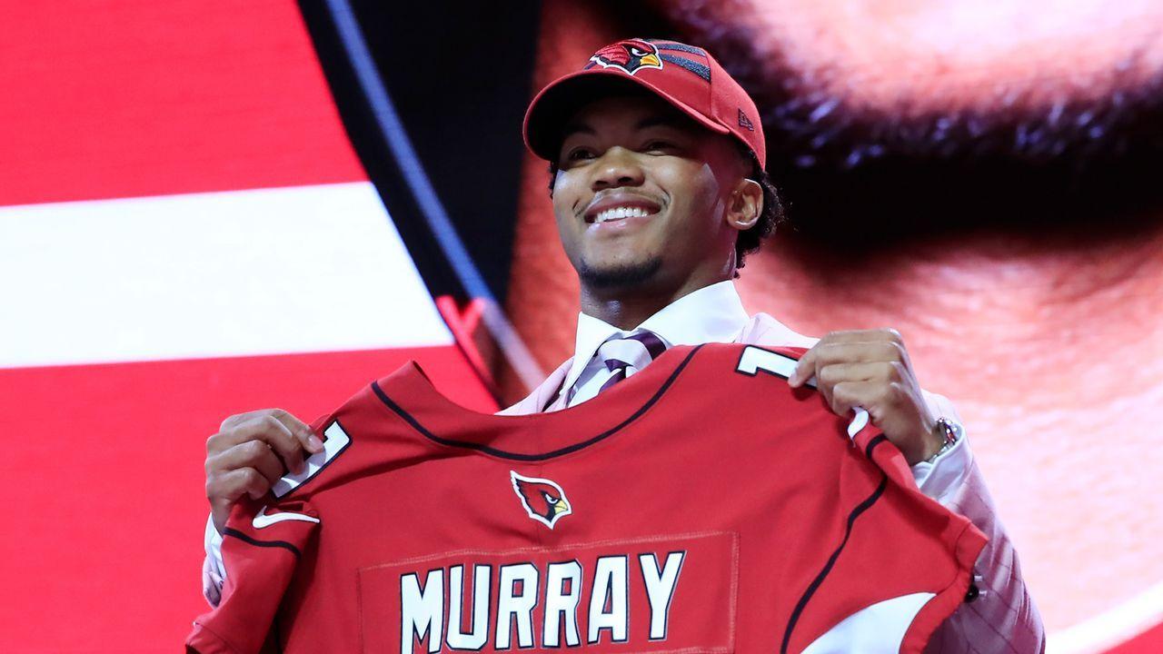 1. Pick - Arizona Cardinals: QB Kyler Murray (Oklahoma) - Bildquelle: 2019 Getty Images