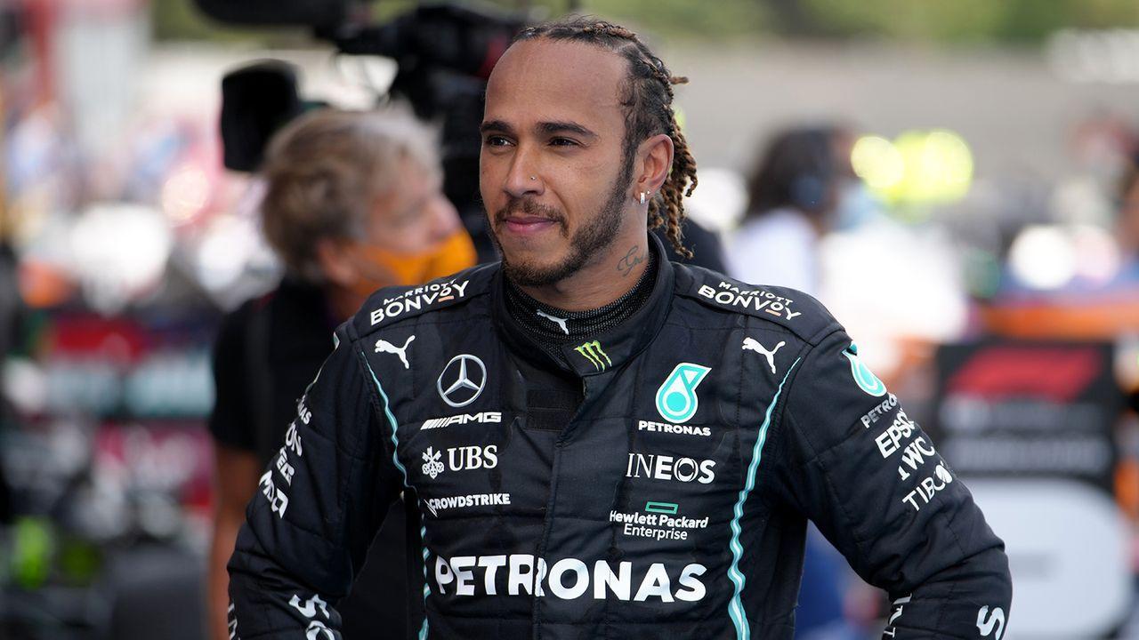 Platz 8: Lewis Hamilton (Motorsport) - Bildquelle: Getty Images