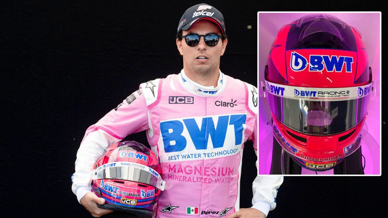 Sergio Perez (BWT Racing Point F1) - Bildquelle: imago ; twitter/RacingPointF1