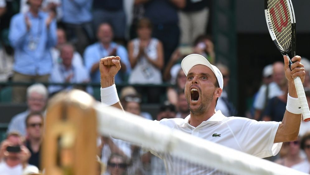 Halbfinalist in Wimbledon: Roberto Bautista Agut - Bildquelle: AFPSIDBEN STANSALL