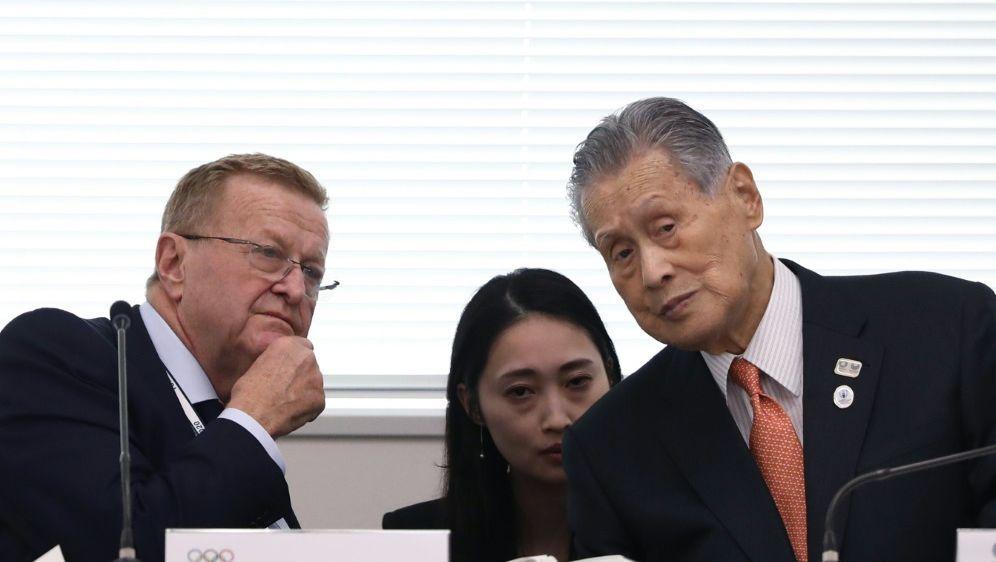 John Coates sieht Olympia in Tokio weiter gefährdet - Bildquelle: AFPSIDBEHROUZ MEHRI