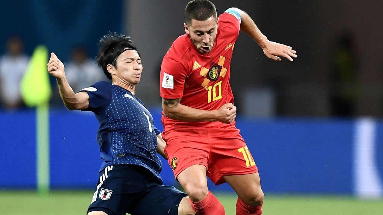 Linker Mittelfeldspieler: Eden Hazard (27, Belgien) - Bildquelle: 2018 Getty Images