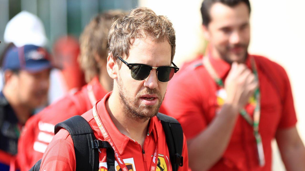 13. Sebastian Vettel (Ferrari) - Bildquelle: imago images/Action Plus