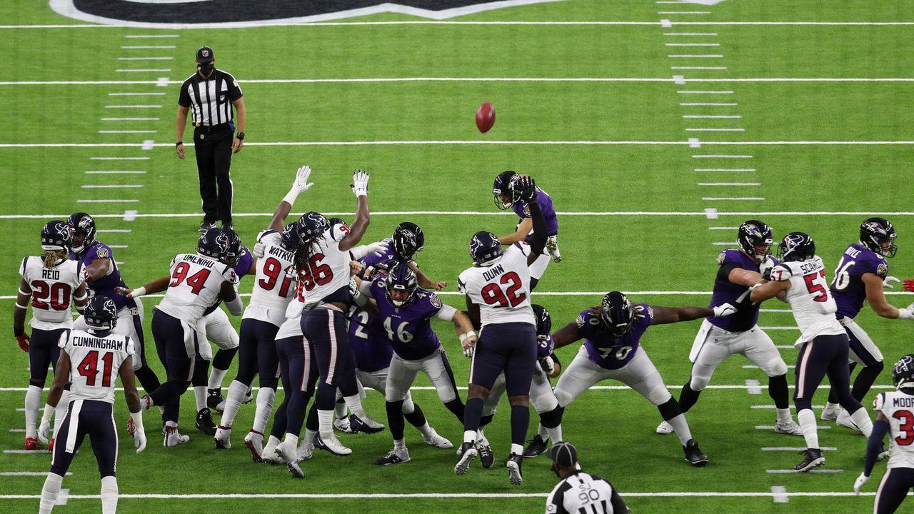 Special Teams und Kicker: Baltimore Ravens (15 Punkte) - Bildquelle: 2020 Getty Images