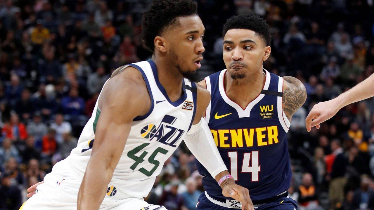 Westen: Denver Nuggets (3) vs. Utah Jazz (6) - Bildquelle: imago images/Agencia EFE