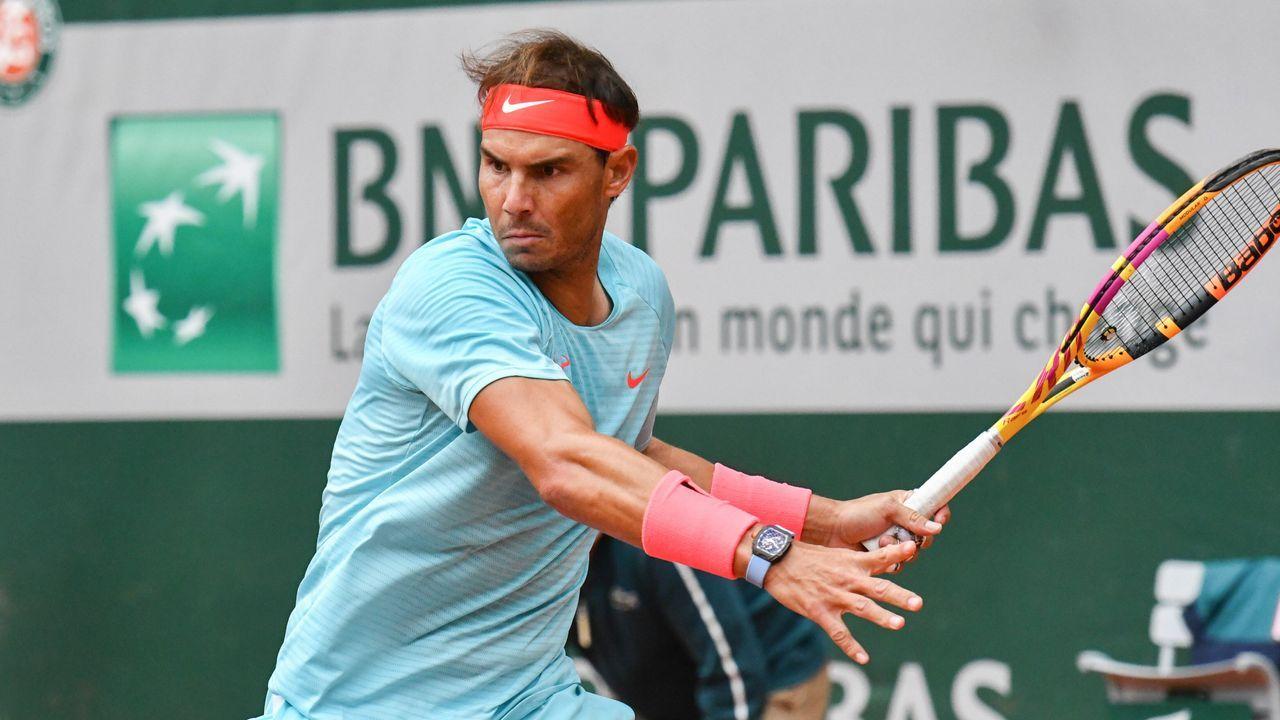Rafael Nadal spielt bei French Open mit 1-Million-Dollar-Uhr - Bildquelle: imago images/Starface