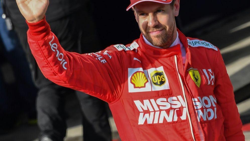Sebastian Vettel ist zum dritten Mal Vater geworden - Bildquelle: AFPSIDNELSON ALMEIDA