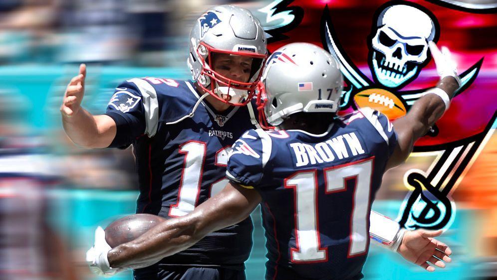 Tom Brady und Antonio Brown sind bei den Tampa Bay Buccaneers wiedervereint - Bildquelle: 2019 Getty Images