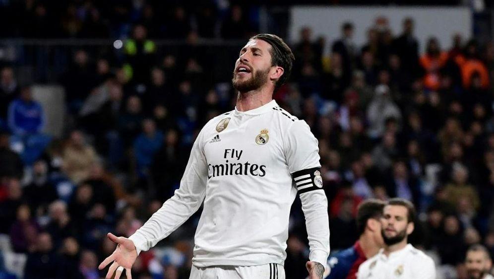 Sergio Ramos fällt wohl zwei bis drei Wochen aus - Bildquelle: AFPSIDJAVIER SORIANO