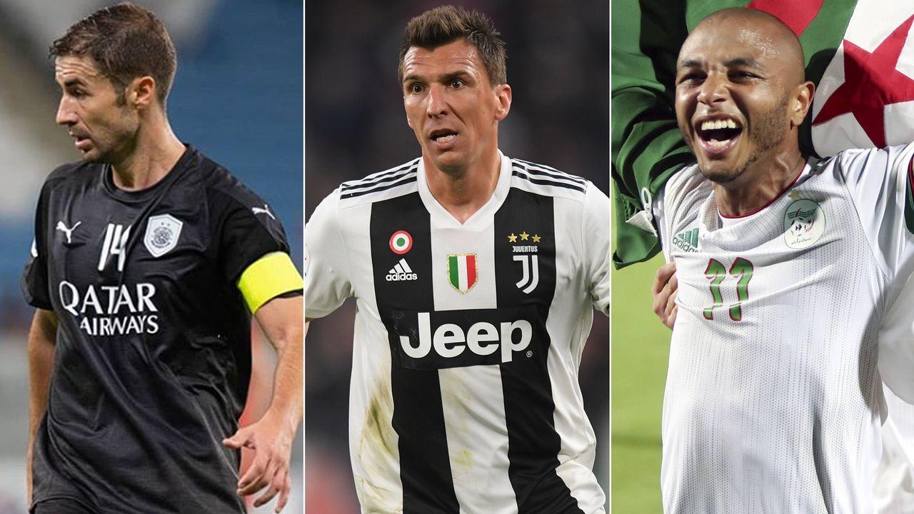 Mandzukic der Nächste? Die großen Namen in Katars Stars League - Bildquelle: alsaddsc@instagram/Getty Images/Imago