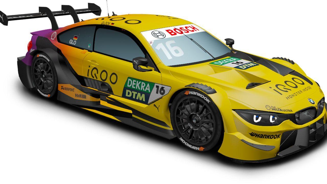 Timo Glock (BMW Team RMG) - Bildquelle: DTM