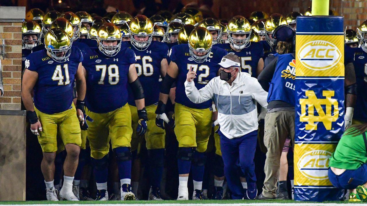 #2 Notre Dame Fighting Irish (8-0) - Bildquelle: 2020 Getty Images