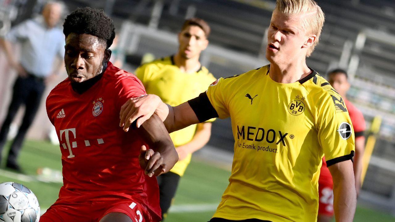 Die Noten zum Bundesliga-Duell Borussia Dortmund gegen Bayern München - Bildquelle: Getty Images