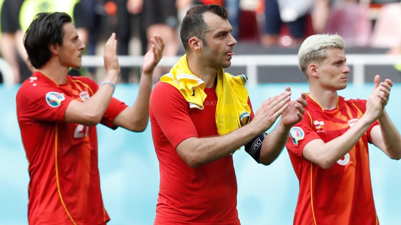 Gruppe C: Nordmazedonien (Gruppenvierter, 0 Punkte/2:8 Tore) - Bildquelle: 2021 Getty Images