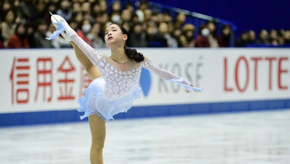 Lim Eun Soo erlitt eine Schittwunde am Bein - Bildquelle: AFPSIDMARTIN BUREAU