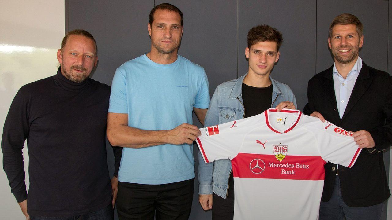 Mateo Klimowicz (VfB Stuttgart) - Bildquelle: twitter@vfb