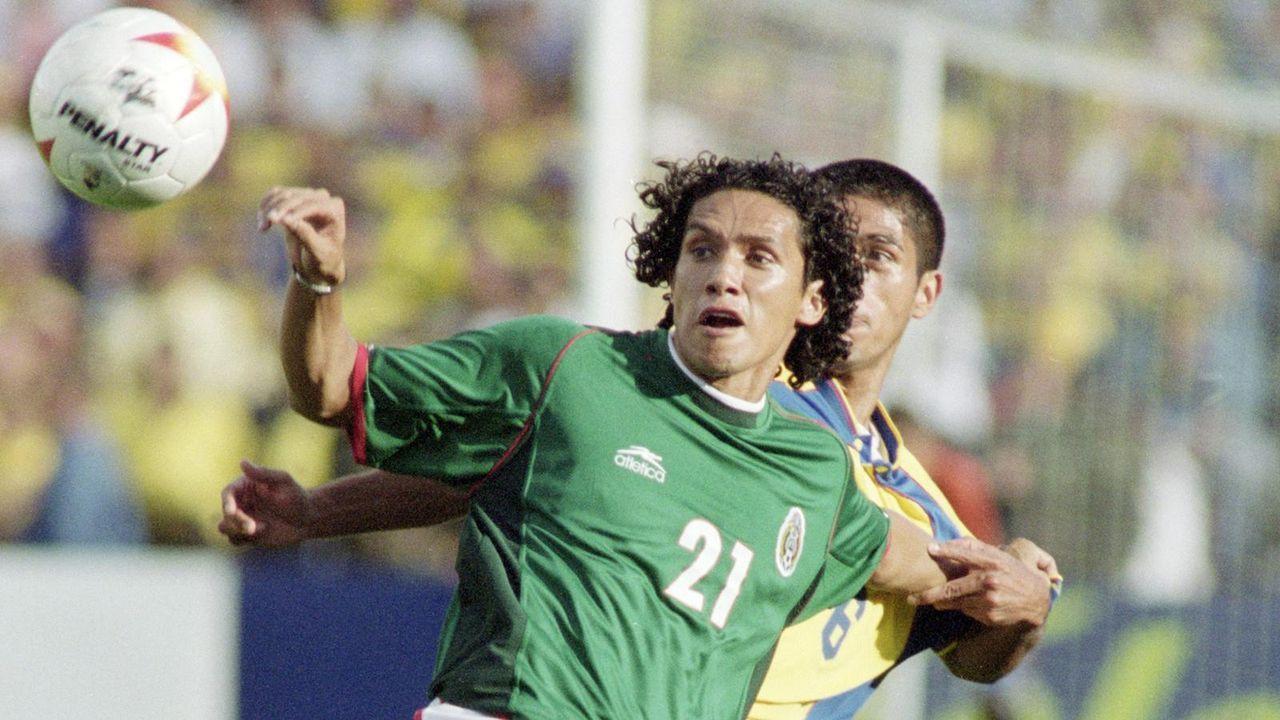Platz 14: Mexiko (eine Final-Teilnahme) - Bildquelle: getty