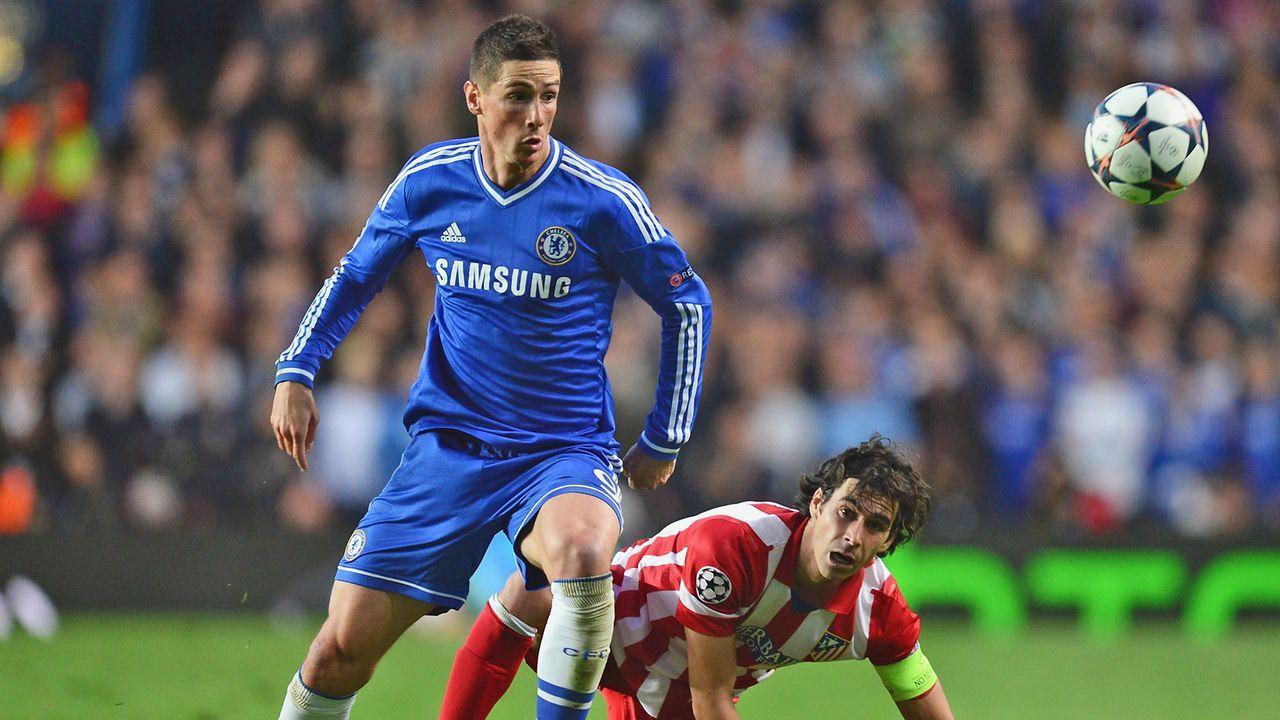 Platz 4: Fernando Torres - Bildquelle: 2014 Getty Images