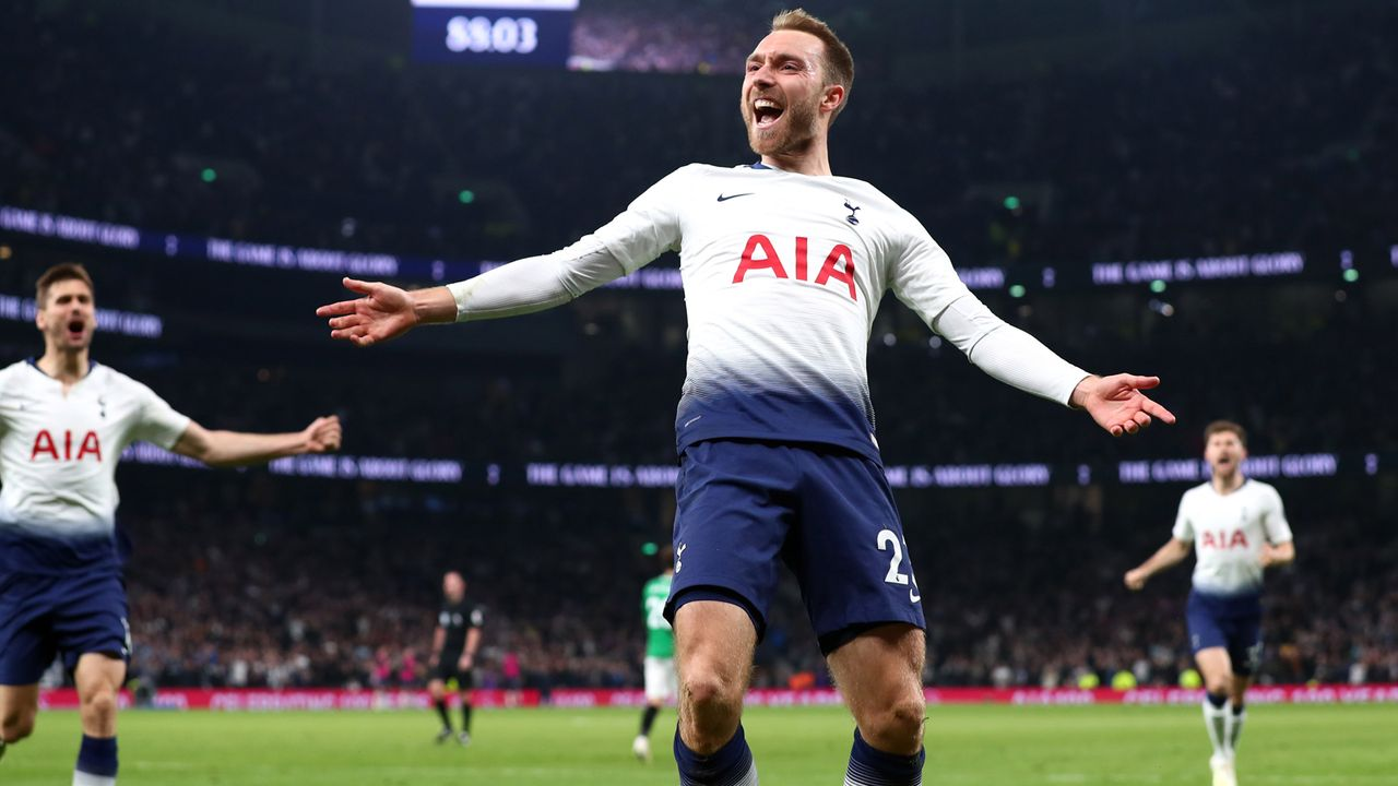 Platz 4 - Christian Eriksen - Bildquelle: 2019 Getty Images